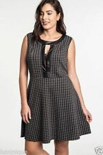 Houndstooth Casual Dresses for Women