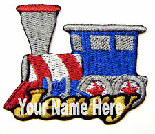 Train Custom Iron-on Patch With Name Personalized Free