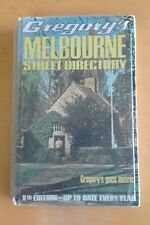 Vintage Gregory's Melbourne Street Directory 9th Edition - Metric
