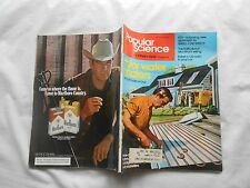 POPULAR SCIENCE Magazine-MAY,1976-SOLAR WATER HEATERS-YOU CAN BUILD OR BUY