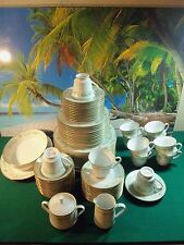 76 PIECE SET OF NORITAKE SPRING MEADOW PATTERN 2484, COMPLETE SERVICE FOR 12