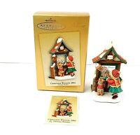 Hallmark Keepsake Ornament Club Exclusive 2004 Christmas Window Sweet Shoppe