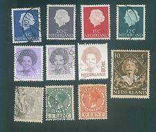 Netherlands Mix used stamps #1