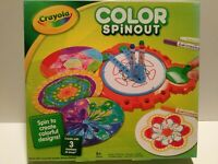 Crayola Color Spinout Marker Art Activity