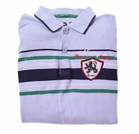 UNITED COLORS OF BENETTON Boys Polo Shirt Long Sleeve 11-12 Years XL Blue