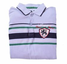 UNITED COLORS OF BENETTON Boys Polo Shirt Long Sleeve 11-12 Years XL Blue