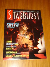 STARBURST #84 BRITISH SCI-FI MONTHLY MAGAZINE AUGUST 1985 STEPHEN KING CAT'S EYE