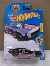 2015 Hot Wheels Super Treasure Hunt Nitro Doorslammer HW Games W/Real Riders