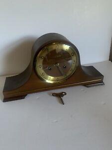 Vintage Linden Chime Windup Mantle Clock West Germany. Keeps Perfect Time.