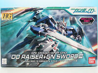 HG Mobile Suit Gundam 00 00 Raiser + GN Sword III 1/144 Plastic Model Bandai