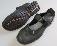 TIMBERLAND Black Leather Closed Toe Mary Jane Sandals Shoes Women's US 6 Medium