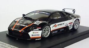 Looksmart 1/43 Scale Resin - LS076 Lamborghini Murcielago R-GT Race Japan 2004