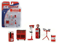 GREENLIGHT MUSCLE 6PC SET SHOP TOOLS TEXACO 1/64 BY GREENLIGHT 13154