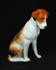 Royal Worcester - Seated Foxhound - 2994 - 1951 - Made in England
