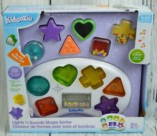 Kidoozie Lights & Sounds Shape Sorter Activity Educational Learn Baby Kids Toy