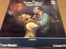 The Postman Always Rings Twice Laserdisc, Jack Nicholson, Jessica Lange NEW