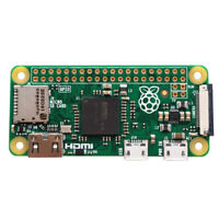 Original Raspberry pi Zero Version 1.3 With Camera Connector Pi0 Board with 1GHz