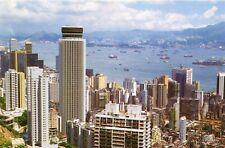 China Hong Kong Hongkong Central and Wan Chai - Buildings continental postcard
