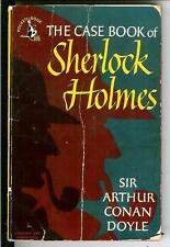 CASE BOOK OF SHERLOCK HOLMES by Doyle, rare US Pocket 1st crime pulp vintage pb