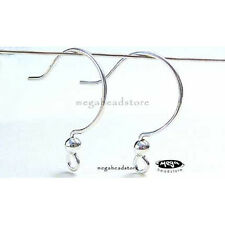 10 Sterling Silver Ear Wire  925 Earring Hook F141