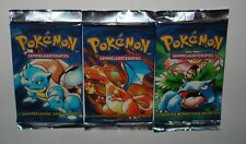 One Pokemon 1st Edition German Basic Booster Pack From Box-Sealed