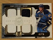 "2011-12 UPPER DECK ""THE CUP"" -  CHRIS STEWART CUP FOUNDATIONS    #15/25"