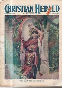 1907 Christian Herald-November 13-Queen Victoria letters; head-hunters of Borneo