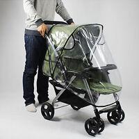 JW_ EP_ Waterproof Wind Dust Shield Baby Stroller Pushchair Pram Rain Cover Ma
