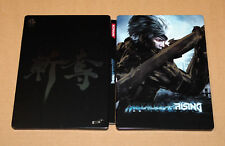 Metal Gear Rising Revengeance Rare Steelbook Size : G1 Xbox 360 DLC NO Game