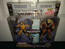 Wolverine vs. Sabertooth 2-Pack Face-Off Marvel Legends ToyBiz 2006 MISP! X-Men