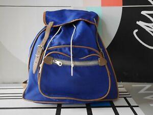 Taurus zipper Wander Rucksack 60er blau TRUE VINTAGE trekking backpack bag 60s