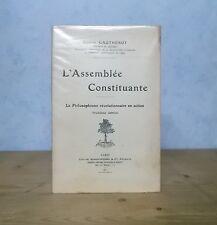 REVOLUTION 1789 PHILOSOPHISME MIRABEAU ASSEMBLEE CONSTITUANTE (GAHTHEROT 1911).