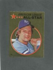 1982 O-Pee-Chee Baseball Sticker Gorge Brett #133 All-Star Foil Royals *MINT*