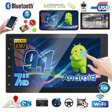 2Din Android 9.1 GPS Navi Radio De Coche 9'' Touch Screen Bluetooth Mirror Link
