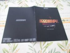 >> HYPER NEO GEO 64 ORIGINAL JAPAN ARCADE 8 PAGES CATALOG! <<