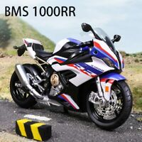1:12 BMW S1000 RR Motorcycle Collection Model Toy Birthday Gift Christmas Bike