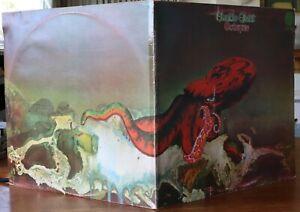 """Gentle Giant """"Octopus"""" Aussie Press. 1973 Prog Rock Vertigo Label, VG+++ / VG(+)"""