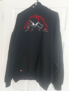 """Universal Studios Spider Man """"The Ride"""" Authentic Hoodie Size XL"""