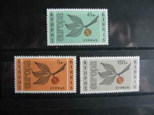 BA4, CEPT-Europa, Satz, ZYPERN, 1965, Postfrisch/MNH/**, Mi € 35
