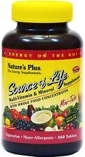 Source of Life von Natures Plus, Minitabletten 180 Stück