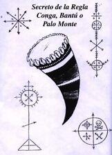 Secretos de la Regla Conga, Bantú o Palo Monte Digitalizado en pdf