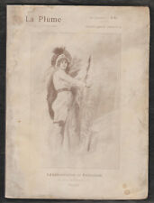 La Plume du 15 juin 1896 Numéro 172. Numéro spécial consacré à Félicien Rops.