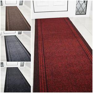 Hardwearing Non Slip Mat Cut to Any Length Per Foot Custom Extra Long Runner Rug