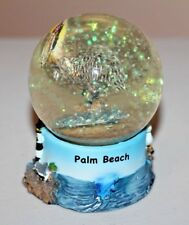 "Palm Beach Souvenir Snow Globe with Pelican 3.5""   (SG119)"