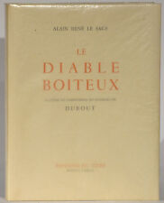 Rene le Sage Le Diable Boiteux illustrated by Dubout 1945 limited edition