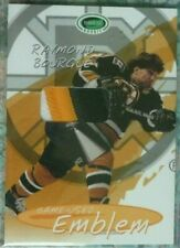 Ray Bourque 2003-04 Parkhurst Rookie Game-Used 3CLR EMBLEM /9 Boston Bruins