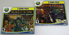 4 Game Pack Secrets of the Dark & Grim Facade (Temple of Night/Eclipse Mountain