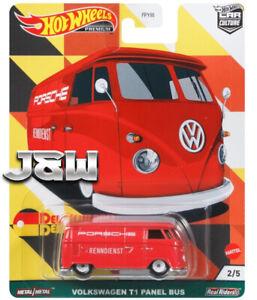 Hot Wheels Volkswagen T1 Panneau Bus Deutschland Design FPY86-957C 1/64