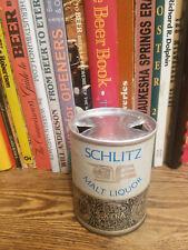 Schlitz malt Liquor 8oz Flat Top Beer Can  High Grade  Paper Label