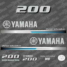 Yamaha 200 four stroke outboard (2013) decal aufkleber addesivo sticker set